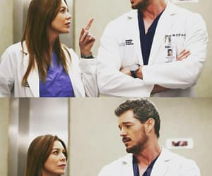 meredith grey, grey's anatomy, and mark sloan image