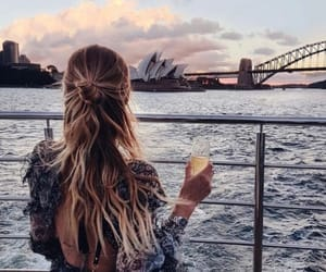 hair, travel, and style image