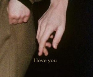 hands, I Love You, and love image