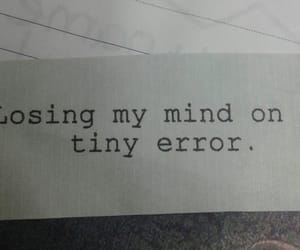 afraid, black and grey, and error image