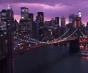 city, gif, and light image