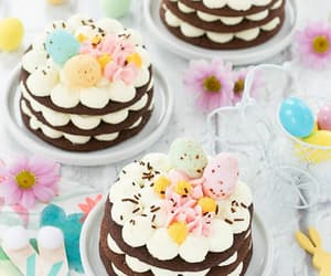 cake, love it, and easter image
