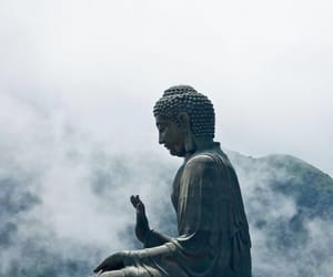 Buddha, indie, and statue image