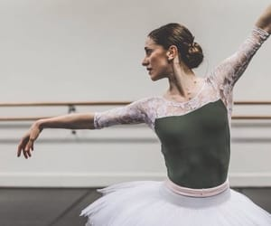 ballet, pointe, and rehearsal image
