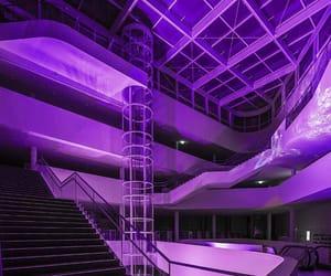 purple, neon, and glow image
