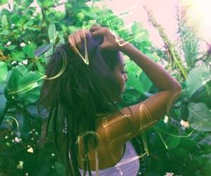 dreadlocks, hippie, and nature image