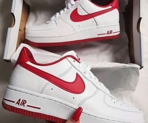 air force 1, nike, and red image