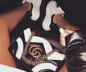 girls, luxury, and shoes image