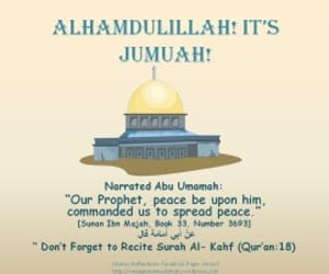 day, alhamdullilah, and jummah image