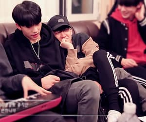 hyunjin, stray kids, and changbin image