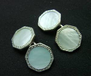 etsy, clearance sale, and antique cufflinks image