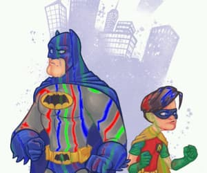 art, Batman and Robin, and gif image