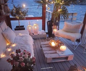 candles, beautiful, and cozy image