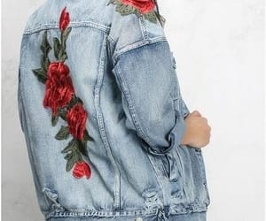 flowers, style, and denim image