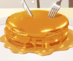 gif, food, and pancakes image