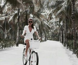 bike, girl, and luxury image