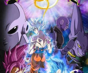 freezer, hit, and goku image