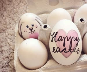 happy easter, eggs, and easter image
