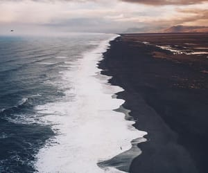 ocean, photography, and beach image