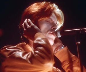 david bowie, 70s, and music image