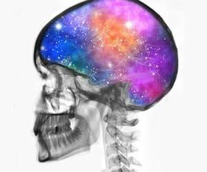 blue, brain, and dark blue image