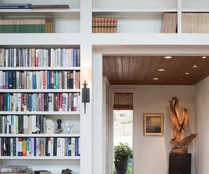 book, book shelf, and book shelves image