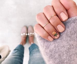 nails, fashion, and pineapple image