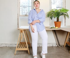 body, fashion, and koreanstyle image