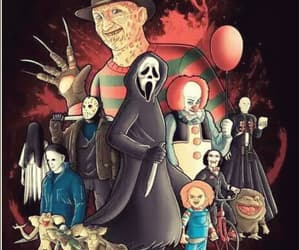 art, Chucky, and freddy krueger image