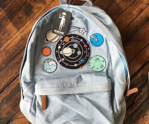 backpack, bag, and planet image