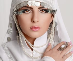 caucasus, wedding, and white image