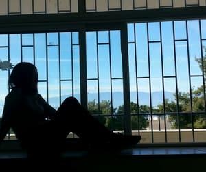 aesthetics, blue, and window image