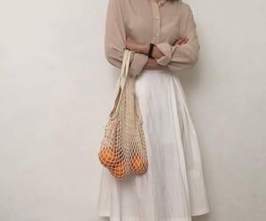 brown, fashion, and orange image