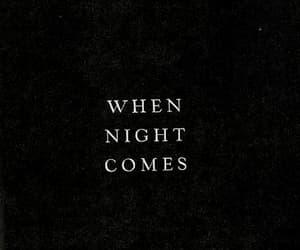 night, quotes, and dark image