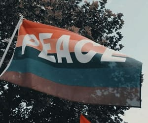 peace, love, and lgbtq image