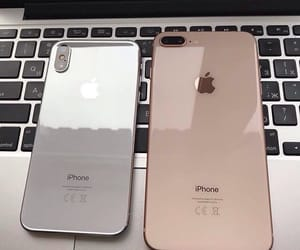 iphone, gold, and iphone x image