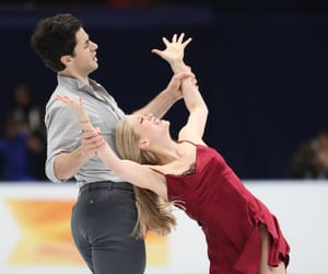 figure skating, kaitlyn weaver, and andrew poje image