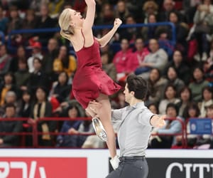 figure skating, andrew poje, and kaitlyn weaver image