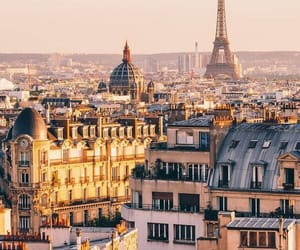 paris, travel, and adventure image