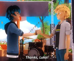 miraculous ladybug and adrien agreste image