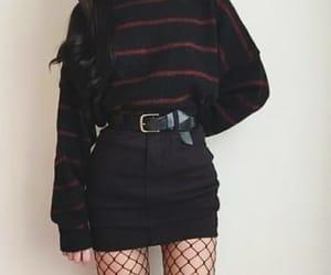 aesthetic, fashion, and black image