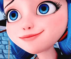 cartoon, gif, and marinette image