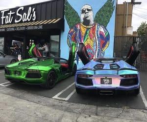 car, Lamborghini, and aventador image