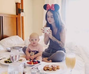 angels, baby, and breakfast image