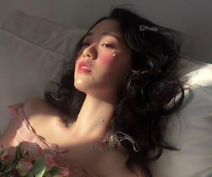 aesthetic, korean, and make up image