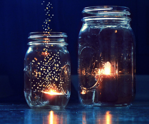 light, photography, and jar image