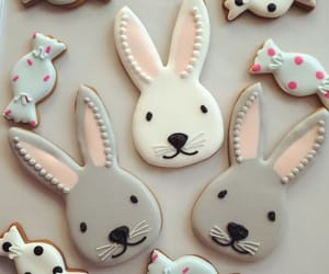 easter, sweet, and cookie image