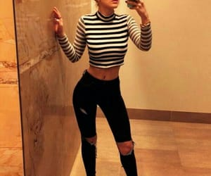 girl, bella thorne, and outfit image