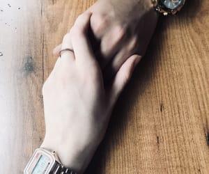 bae, hands, and boyfriend image