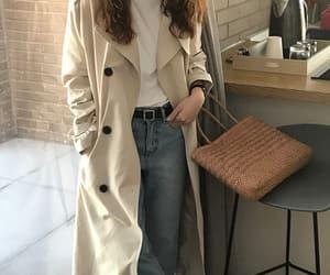 asian fashion, uzzlang girl, and korean outfit image